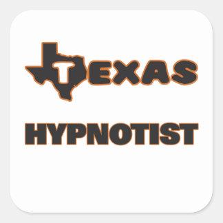 Texas Hypnotist Square Sticker