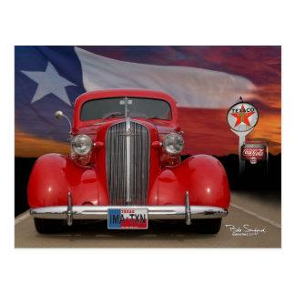 Texas IMA-TXN red car Postcard