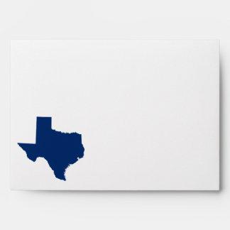 Texas in Blue Envelope