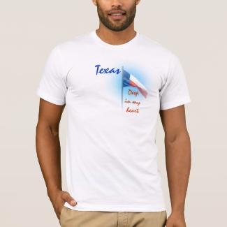 Texas in My Heart Shirt