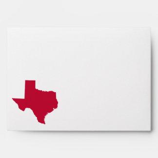 Texas in Red Envelope