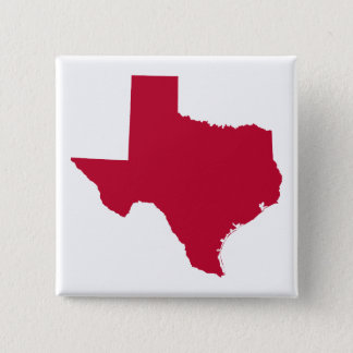 Texas in Red Pinback Button