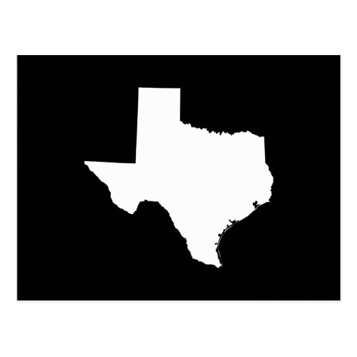 Texas in White and Black Post Cards