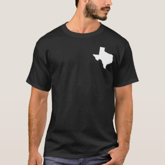 Texas in White and Black T-Shirt