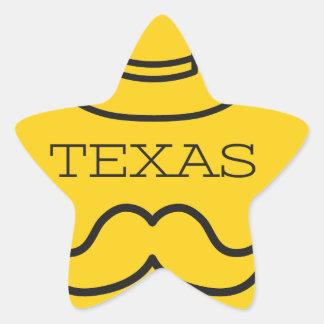 Texas in Yellow 2 Star Sticker