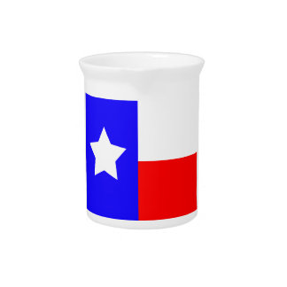 Texas Independence Day Beverage Pitcher