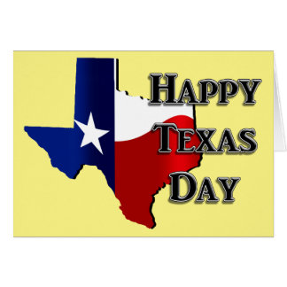 Texas Independence Day Card