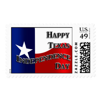 Texas Independence Day Postage