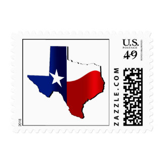 Texas Independence Day Postage Stamp