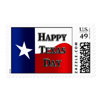 Texas Independence Day Stamps
