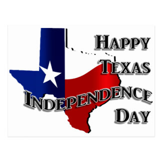 Texas Independence Day Postcard