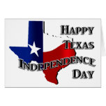 Texas Independence Day Stationery Note Card