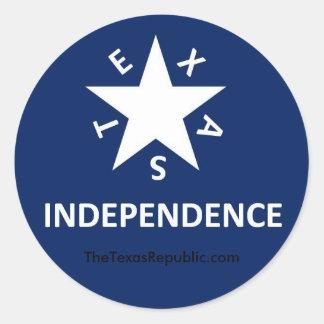 Texas Independence Sticker