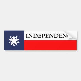 Texas Independence Zavala Bumper Bumper Stickers