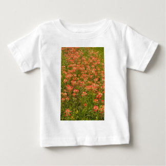 Texas Indian Paintbrush Wildflowers Baby T-Shirt