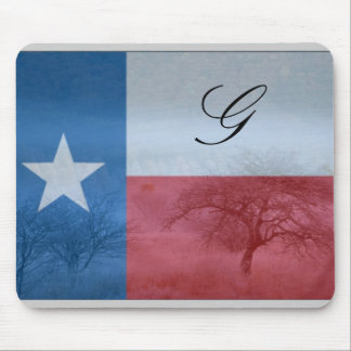 Texas Initialed Mousepad