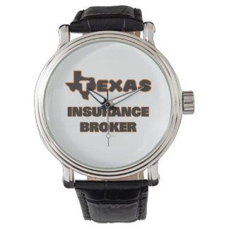 Texas Insurance Broker Wrist Watches