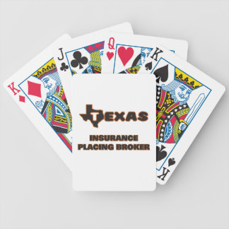 Texas Insurance Placing Broker Bicycle Playing Cards