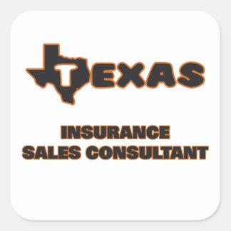 Texas Insurance Sales Consultant Square Sticker