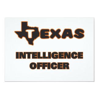 Texas Intelligence Officer 5x7 Paper Invitation Card