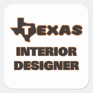 Texas Interior Designer Square Sticker