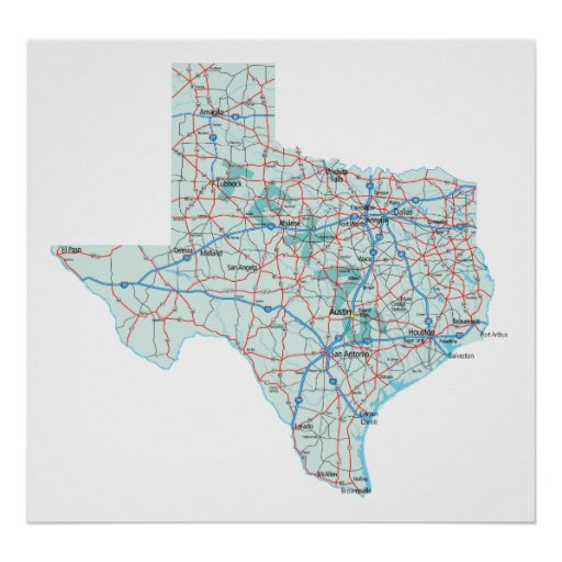 Persnickety image pertaining to printable texas map