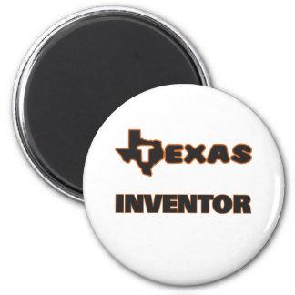 Texas Inventor 2 Inch Round Magnet