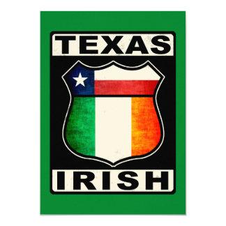 Texas Irish American Card