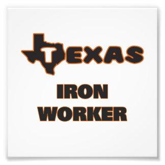 Texas Iron Worker Photo Print