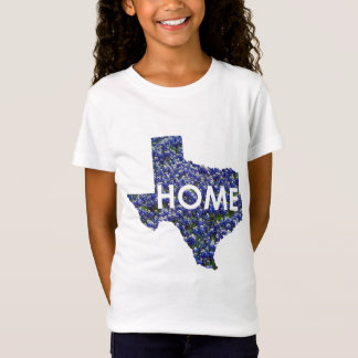 Texas is Home girls top