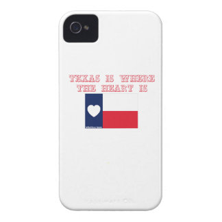 Texas is where the heart is iPhone 4 cover