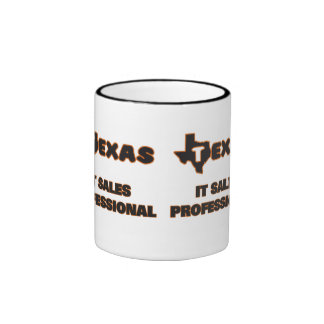 Texas It Sales Professional Ringer Coffee Mug
