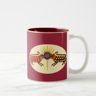 Texas Jaguar Two-Tone Coffee Mug