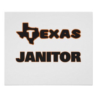 Texas Janitor Poster