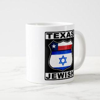 Texas Jewish American Jumbo Mugs