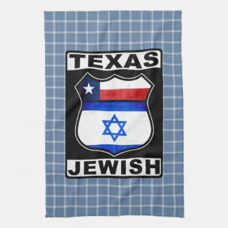 Texas Jewish American Tea Towels