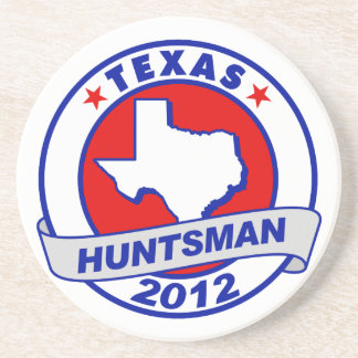 Texas Jon Huntsman Drink Coasters