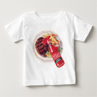 Texas Ketchup Burger and Fries Baby T-Shirt
