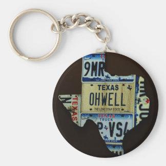 Texas Key Chains