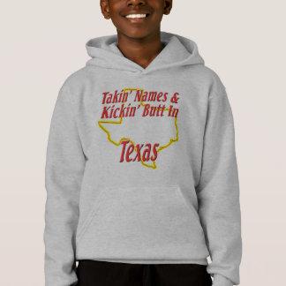 Texas - Kickin' Butt Hoodie