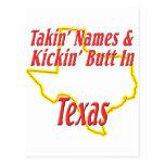 Texas - Kickin' Butt Post Cards