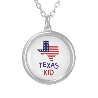 Texas Kid Silver Plated Necklace