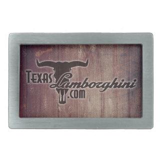 Texas Lamborghini Belt Buckle