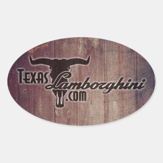 Texas Lamborghini Sticker