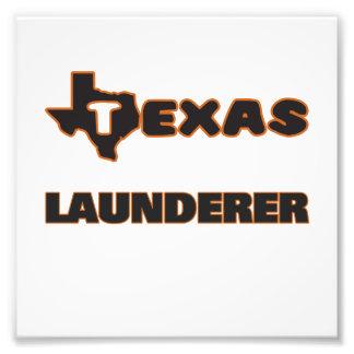 Texas Launderer Photo Print