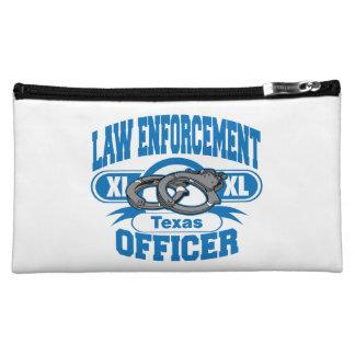 Texas Law Enforcement Officer Handcuffs Makeup Bag