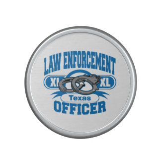 Texas Law Enforcement Officer Handcuffs Speaker