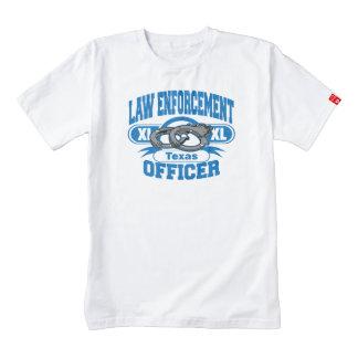 Texas Law Enforcement Officer Handcuffs Zazzle HEART T-Shirt
