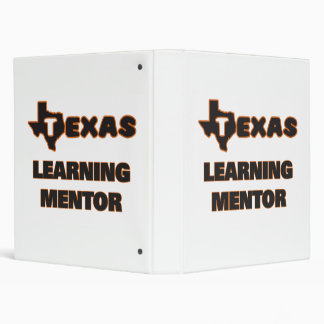 Texas Learning Mentor 3 Ring Binder