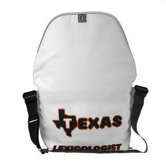 Texas Lexicologist Courier Bag